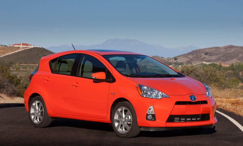 2014 Toyota Prius c Offers 53 MPG City Fuel Economy, Highest of Any Vehicle Without a Plug