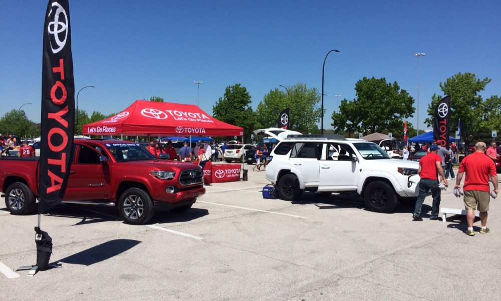 Toyota Becomes the Official Truck Sponsor of the Texas Rangers 003