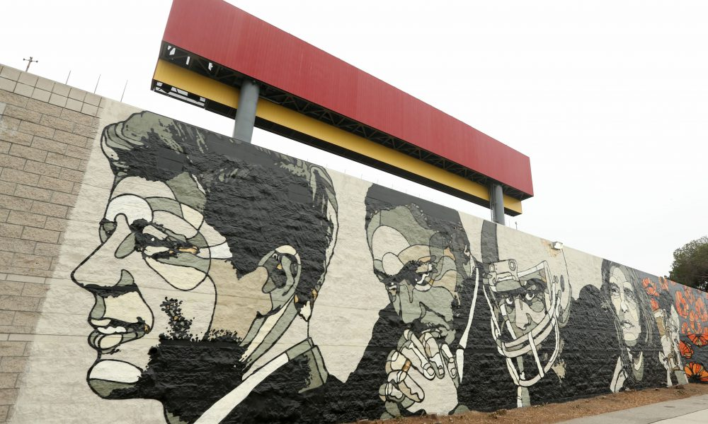 2015 Toyota – Special Olympics World Games Los Angeles – David Flores 'World Stage Legacy' Mural 002