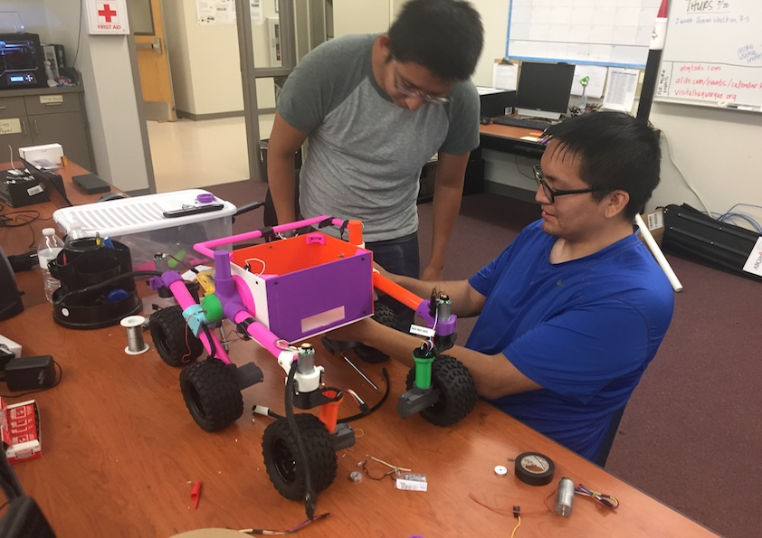 Four Tribal Colleges Receive Toyota TCU STEM Award from American Indian College Fund