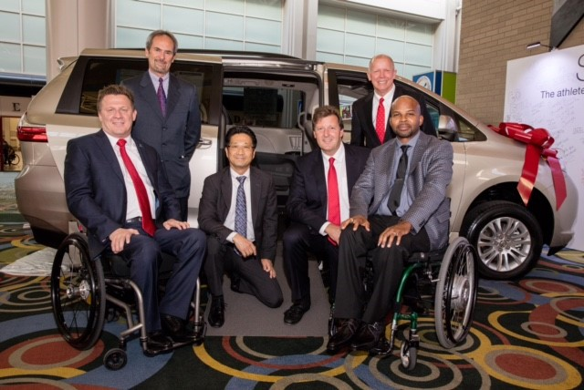 Toyota Serves as a National Host Sponsor of the Largest Annual Wheelchair Multi-Sport Event in the World