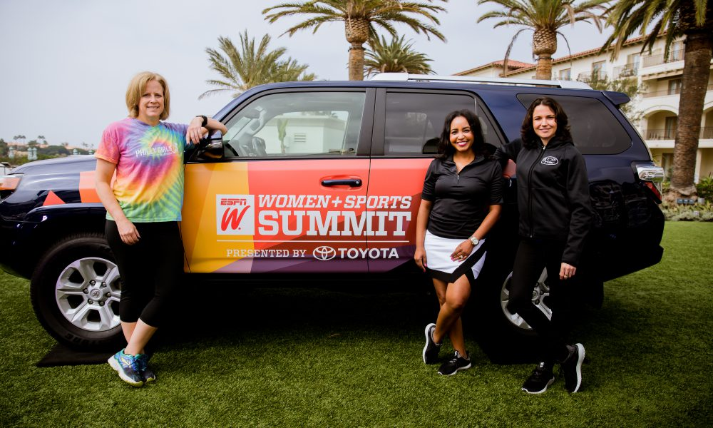 espnW and Toyota Honor 'Everyday Heroes' at 2016 The espnW Women + Sports Summit