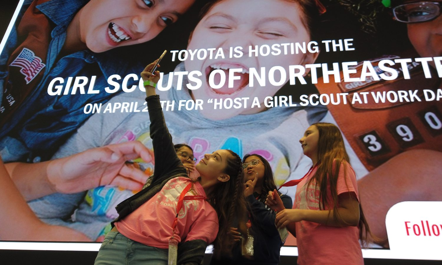 Toyota Displays Commitment to Community and Mobility  Through Partnership With Girl Scouts of Northeast Texas