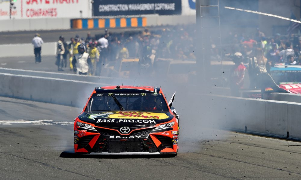 Truex and Gibbs Score Toyota Victories