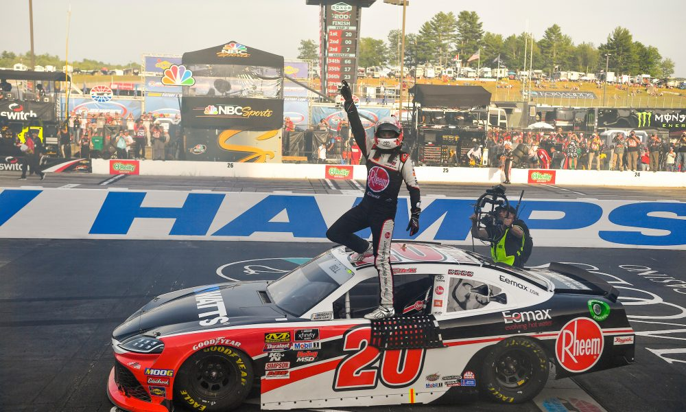 Toyota Drivers Victorious in Iowa and New Hampshire