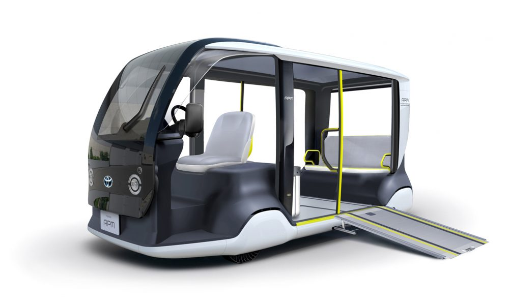 "Toyota Supports Tokyo 2020 with Specially-designed ""APM"" Mobility Vehicle"