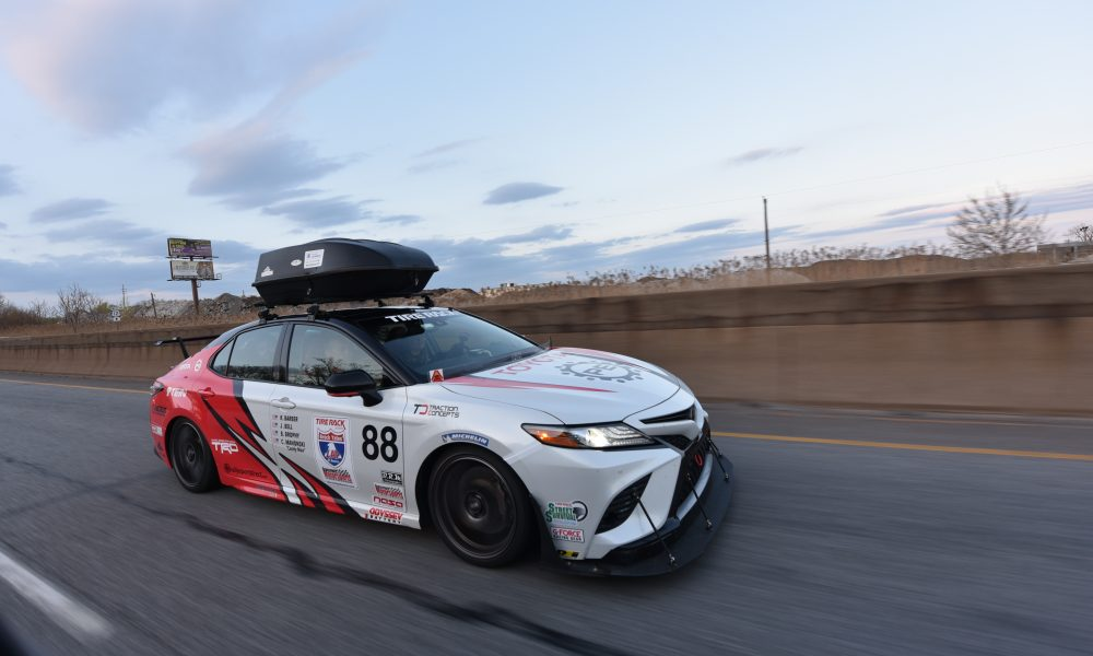 The Real Cannonball Run: Toyota Production Engineers Get Gritty in One Lap of America
