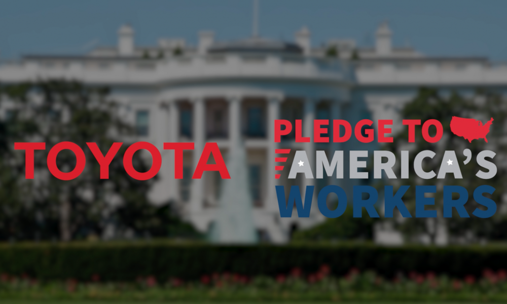 Toyota Celebrates Workforce Training Pledge at White House