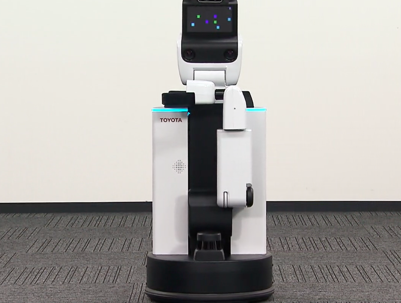 VIDEO HSR Human Support Robot DSR Delivery Support Robot