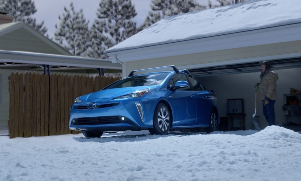2020 Prius It's Unbelievable Snow Conill Advertising
