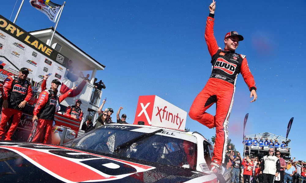 Toyota Racing's Christopher Bell Earns First Road-Course Win