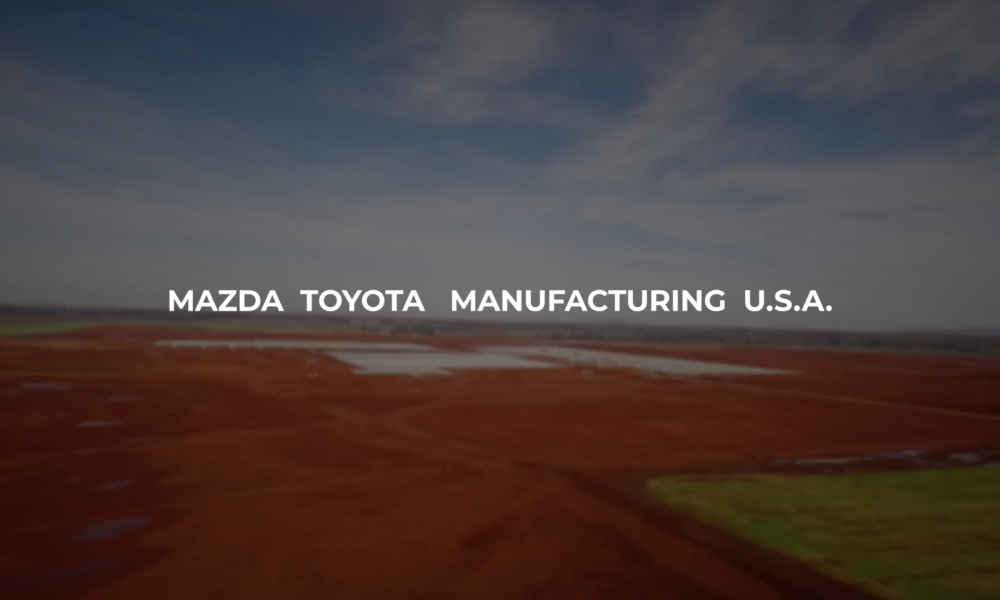 Mazda Toyota Ground Breaking – August 2019