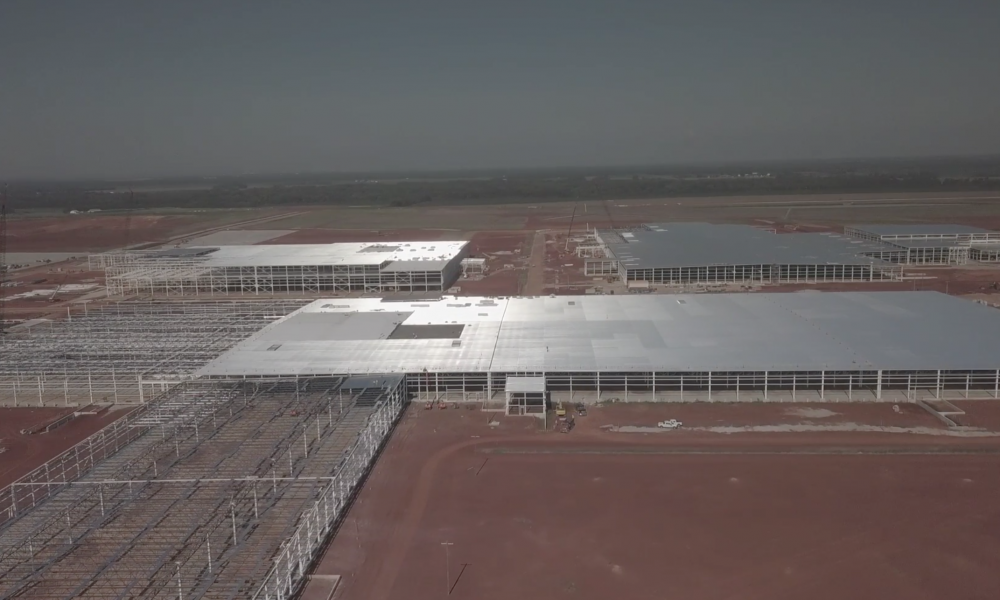 Mazda Toyota Plant Construction August 2019