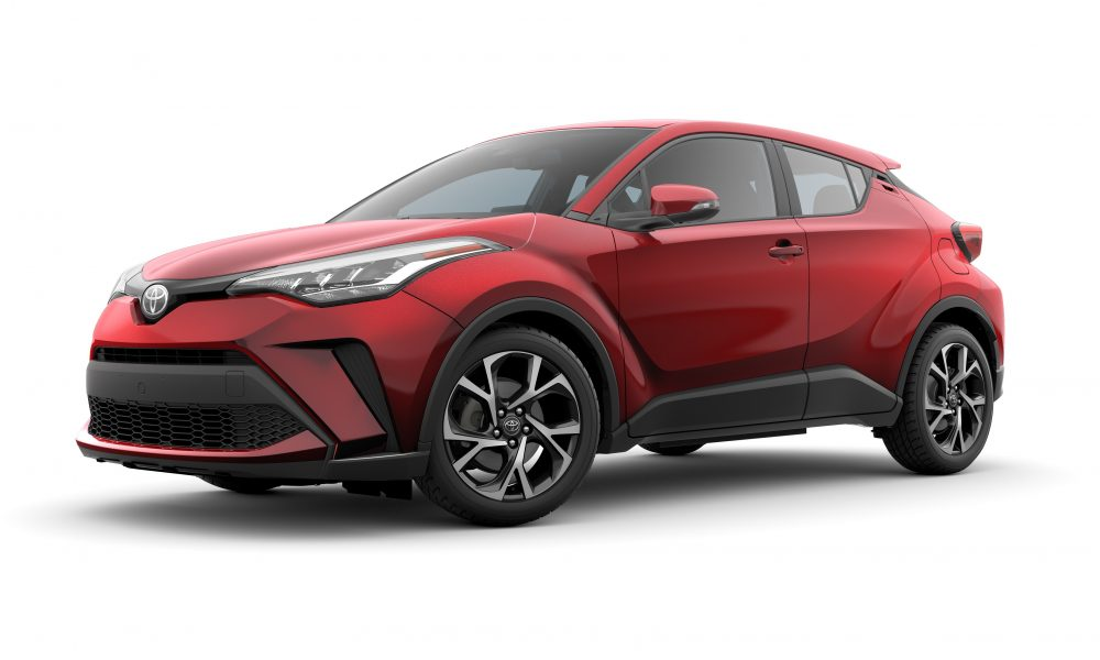 Toyota C-HR Carves Out Its Own Niche for 2020 with New Exterior Styling