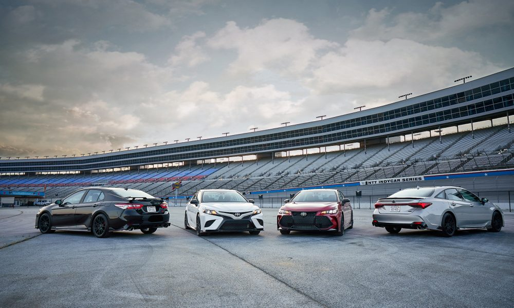 Camry TRD and Avalon TRD Bring Track-Inspired Styling and Performance to the Streets