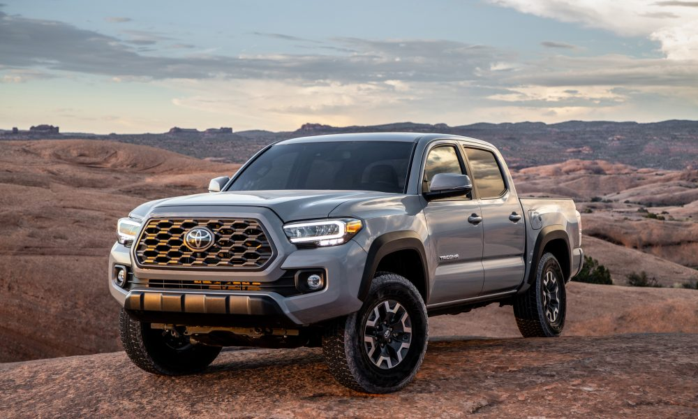 2020 Tacoma TRD Off-Road Cement 1