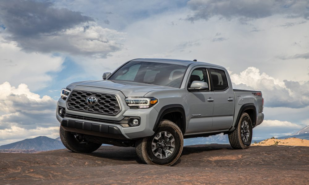 2020 Tacoma TRD Off-Road Cement 2