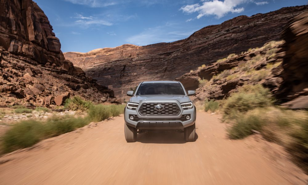 2020 Tacoma TRD Off-Road Cement 4