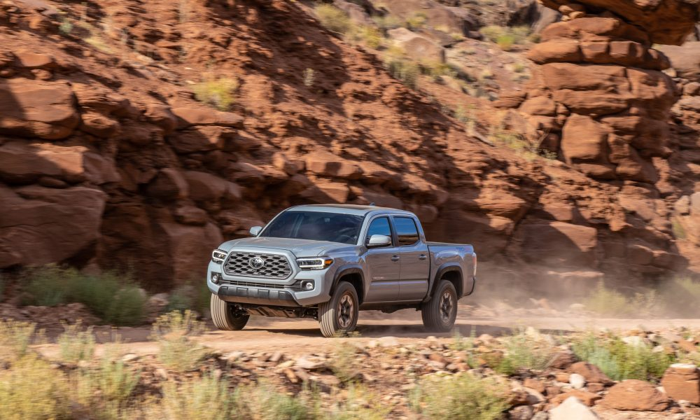 2020 Tacoma TRD Off-Road Cement 6