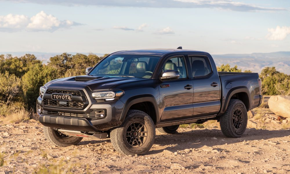 2020 Tacoma TRD Pro Magnetic Gray 1