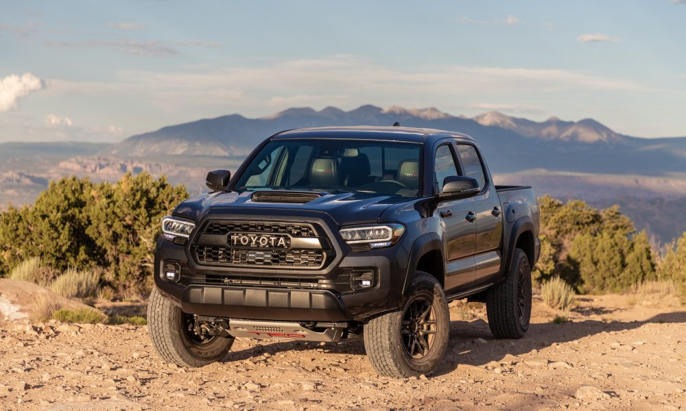 2020 Tacoma TRD Pro Magnetic Gray 2