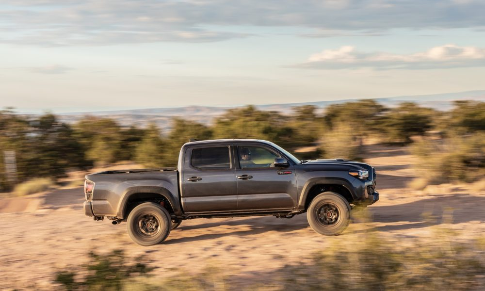 2020 Tacoma TRD Pro Magnetic Gray 3