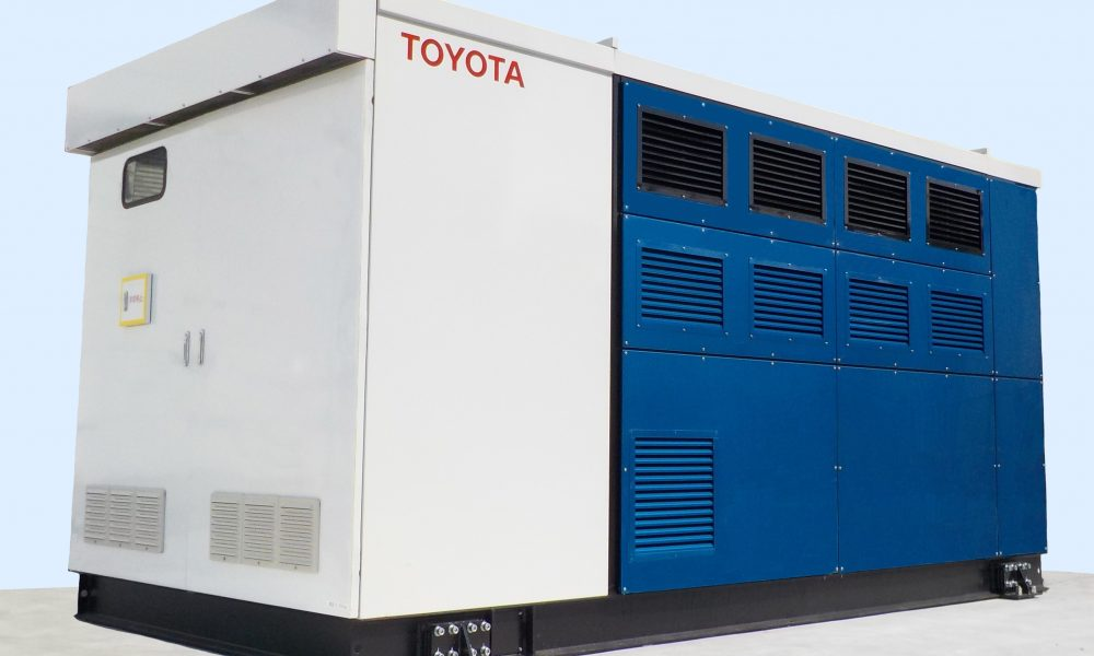Toyota Installs Stationary Fuel Cell Generator Based on the Mirai FC System at its Honsha Plant in Japan