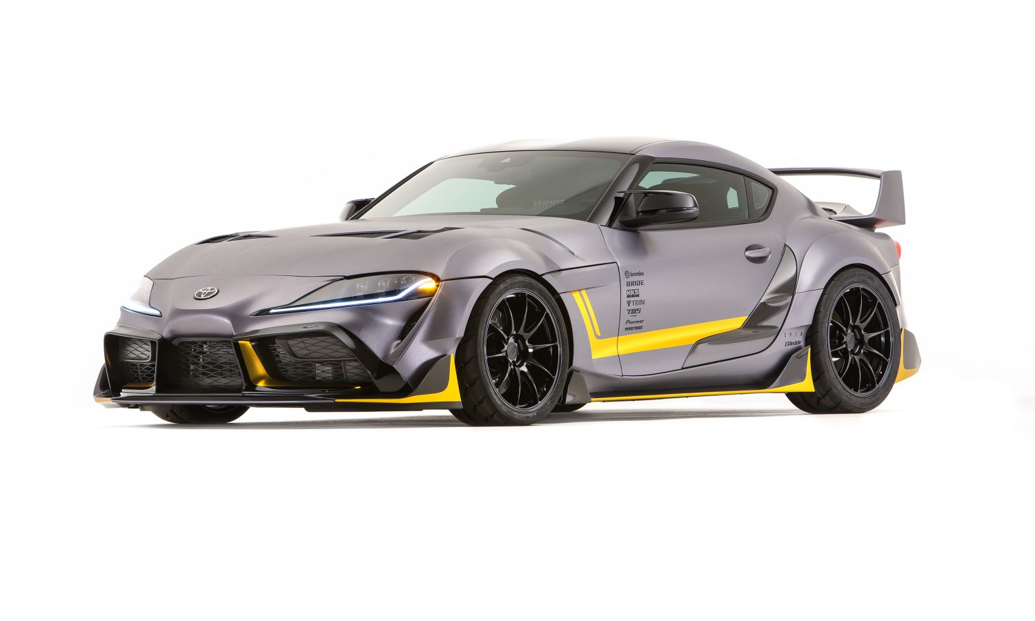 TCD Injects Vintage DNA Into Its GR Supra 3000GT Concept