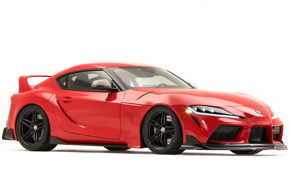500 Horsepower GR Supra Heritage Edition Contender Nods To Supras Past