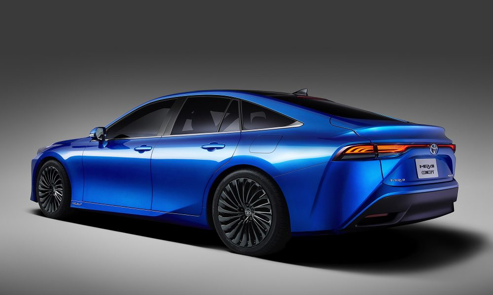 Coupe-Inspired Design Modernizes All-New 2021 Toyota Mirai Sedan Concept