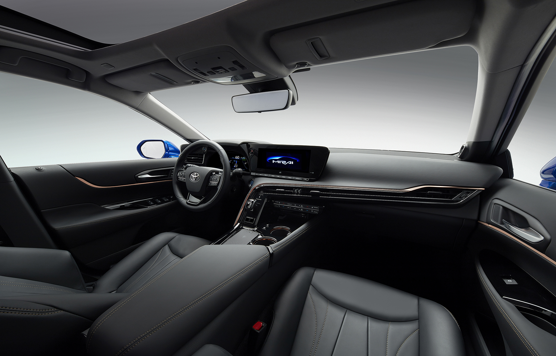 Coupe-Inspired Design Modernizes All-New 2021 Toyota Mirai Sedan ...