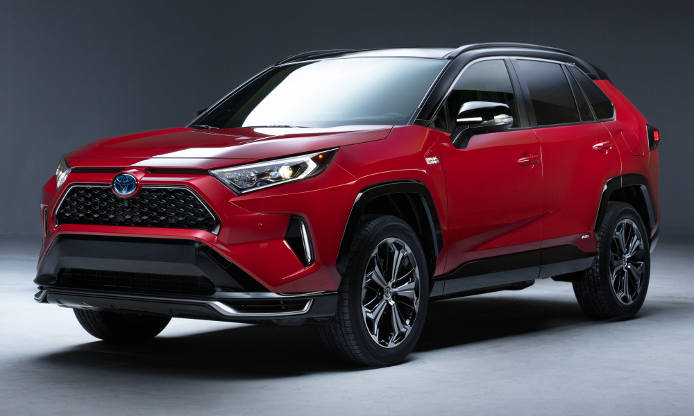 2021 RAV4 Plug-in Hybrid Powers Up for 2019 Los Angeles Auto Show