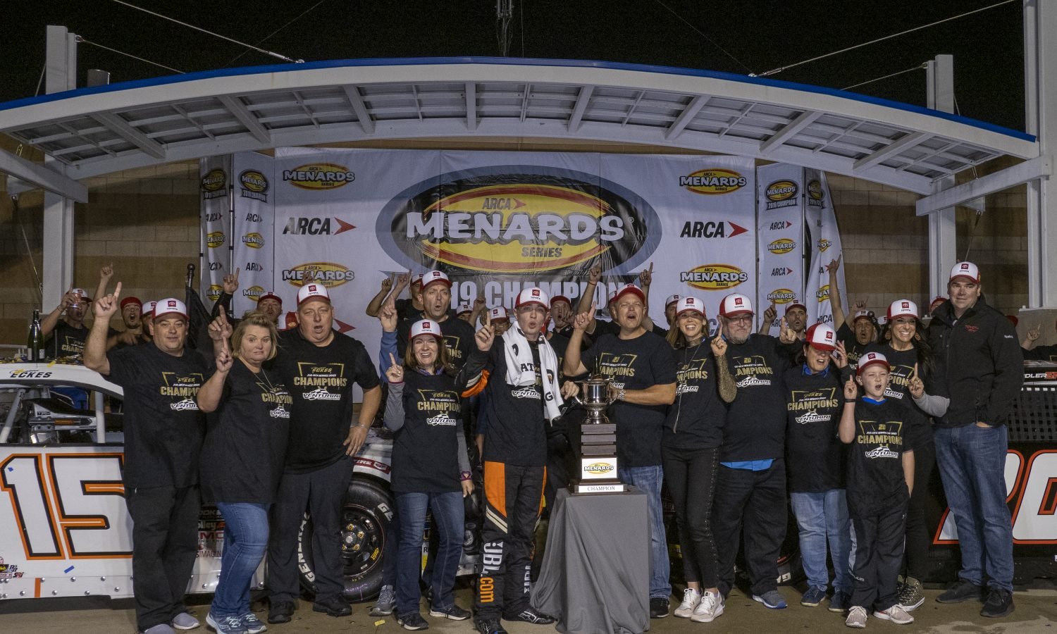 Toyota Driver Christian Eckes Wins ARCA Menards Series Championship