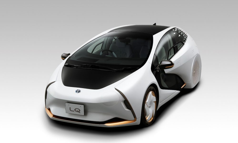 "Toyota Announces new AI Automated ""LQ"" Concept"