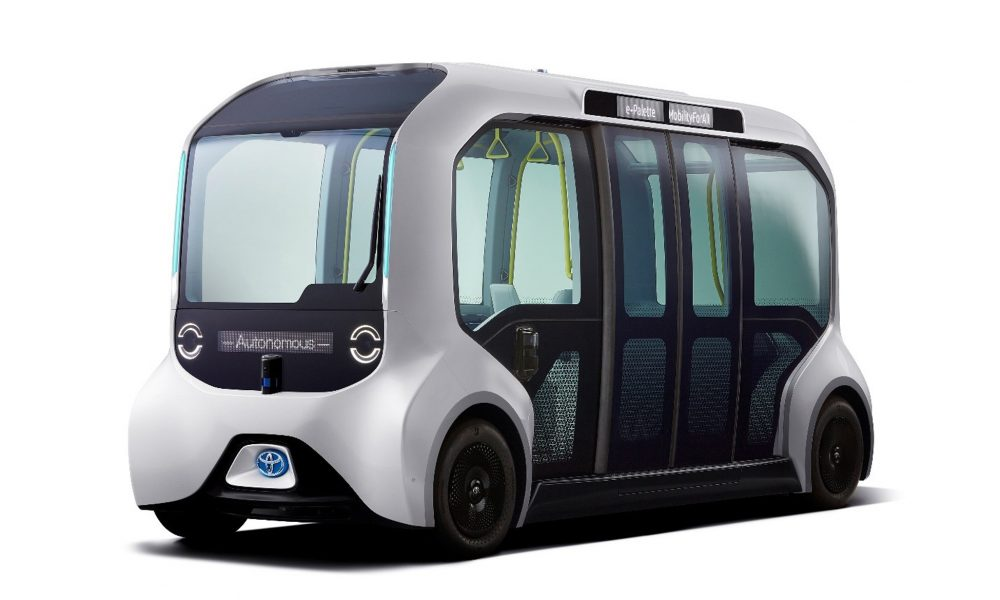 """Specially-Designed Toyota """"Tokyo 2020 Version"""" e-Palette to Provide Automated Mobility to Athletes"""