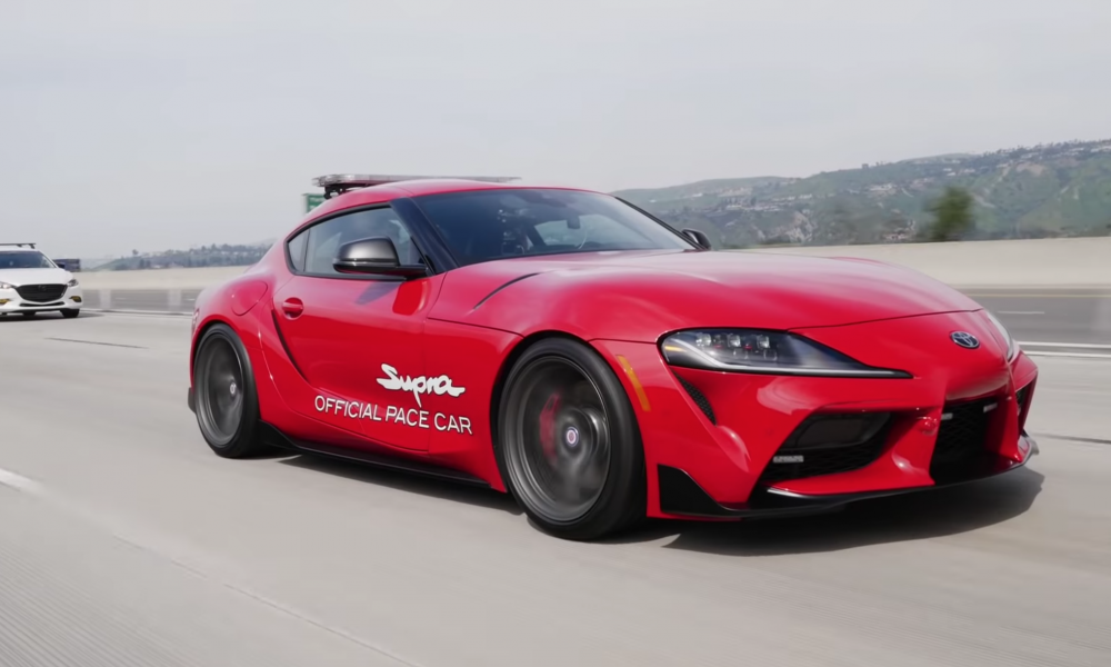 2020 GR Supra Sets The Pace For NASCAR Xfinity Series