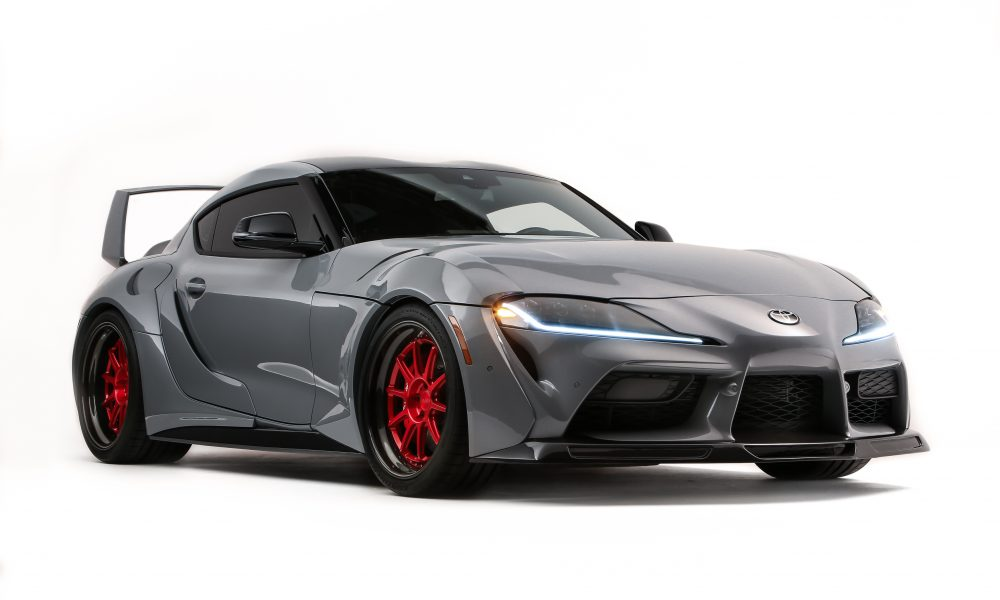 Team Rutledge Wood Builds A Hyper Boosted Supra For SEMA 2019 Build-Off