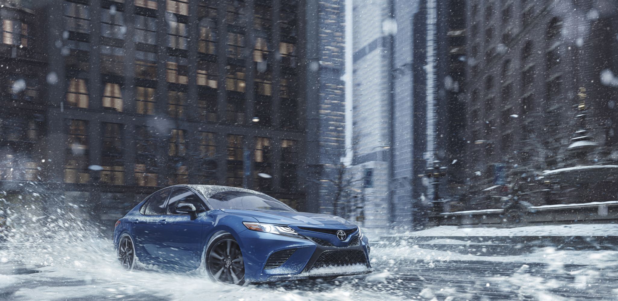 Get A Grip: Toyota Introduces New Camry and Avalon All-Wheel Drive Sedans
