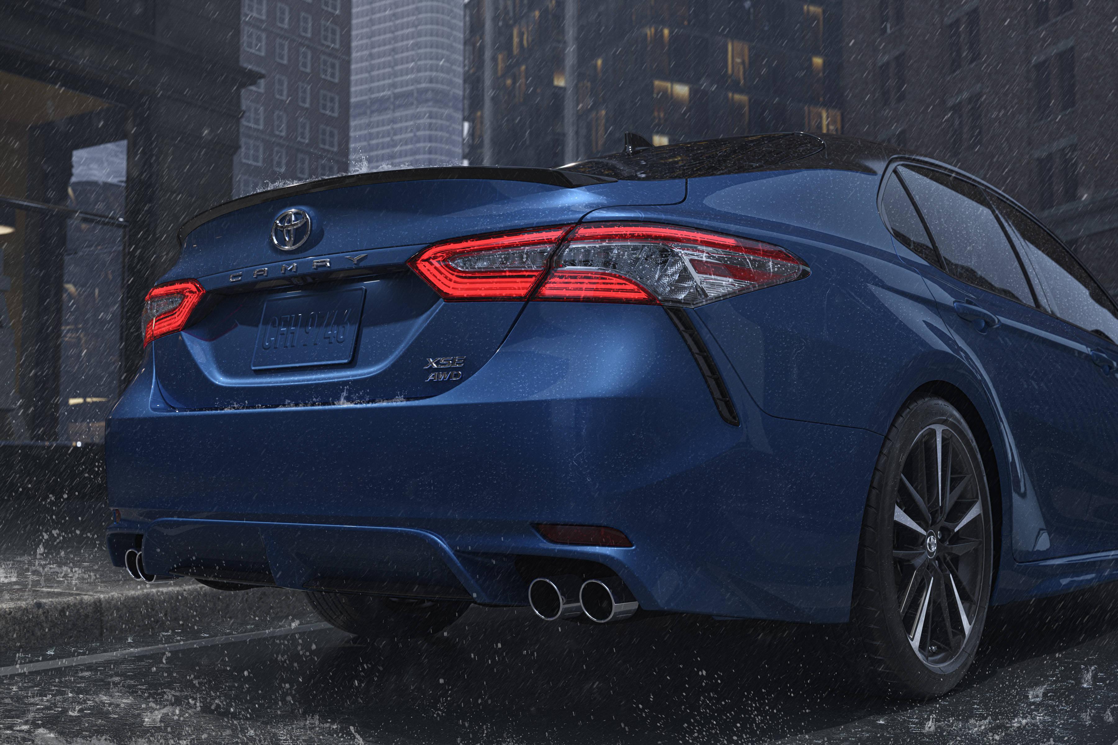Get A Grip Toyota Introduces New Camry And Avalon All Wheel Drive Sedans Toyota Usa Newsroom