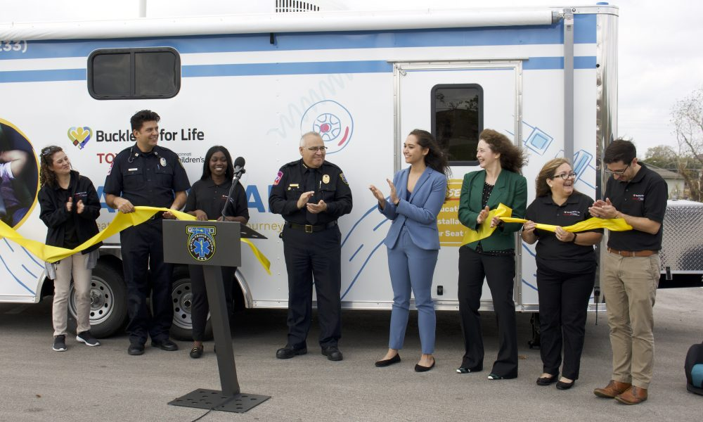 Toyota, Cincinnati Children's and Austin-Travis County EMS Launch Mobile Child Passenger Safety Lab