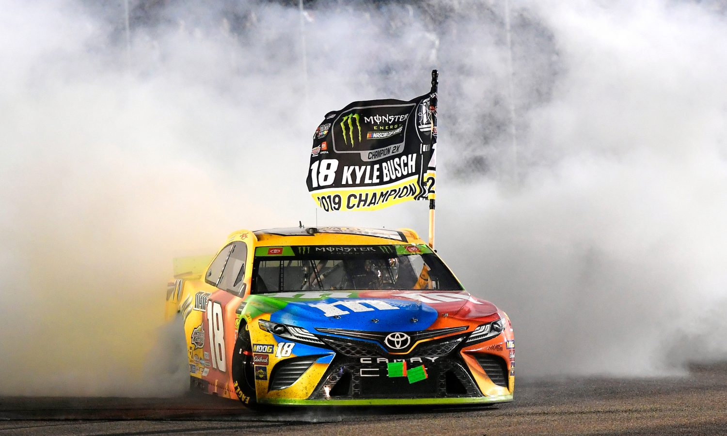 Kyle Busch Closes 2019 Season <br> in Winning Fashion