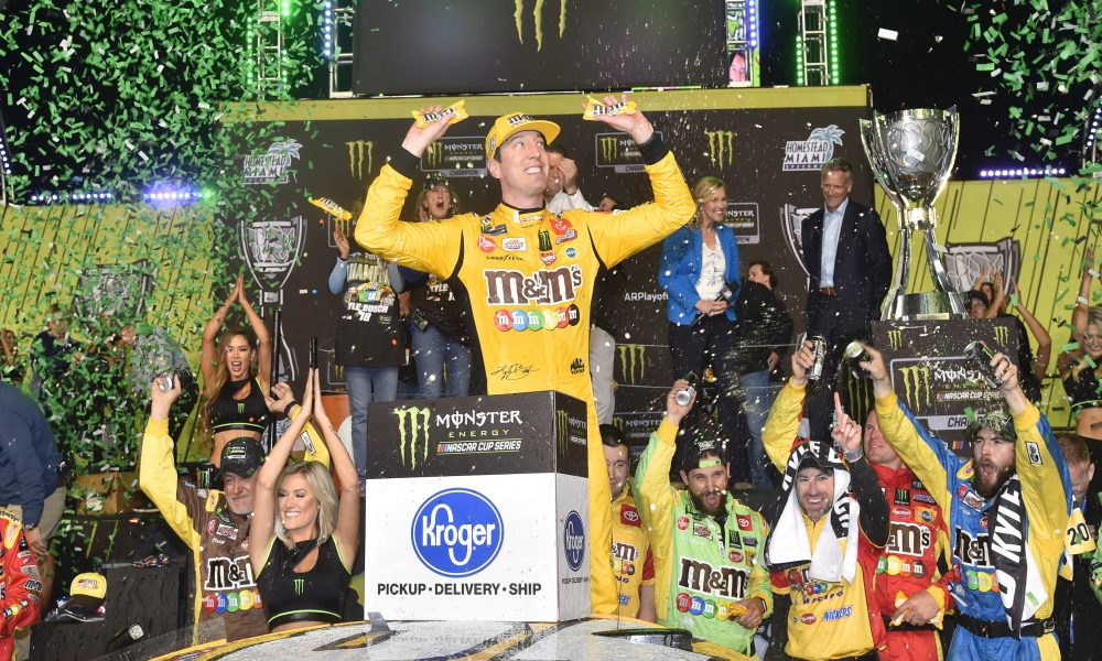 Busch Crowned Cup Series Champion