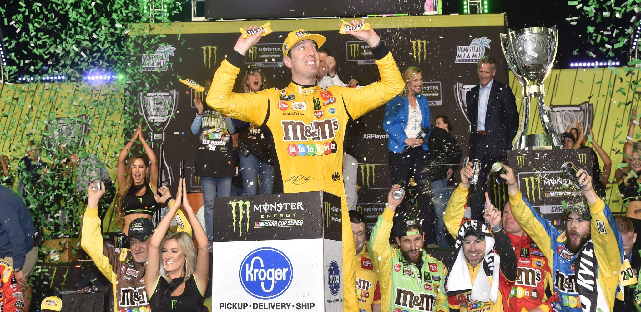 Busch Crowned Camry Cup Series Champion