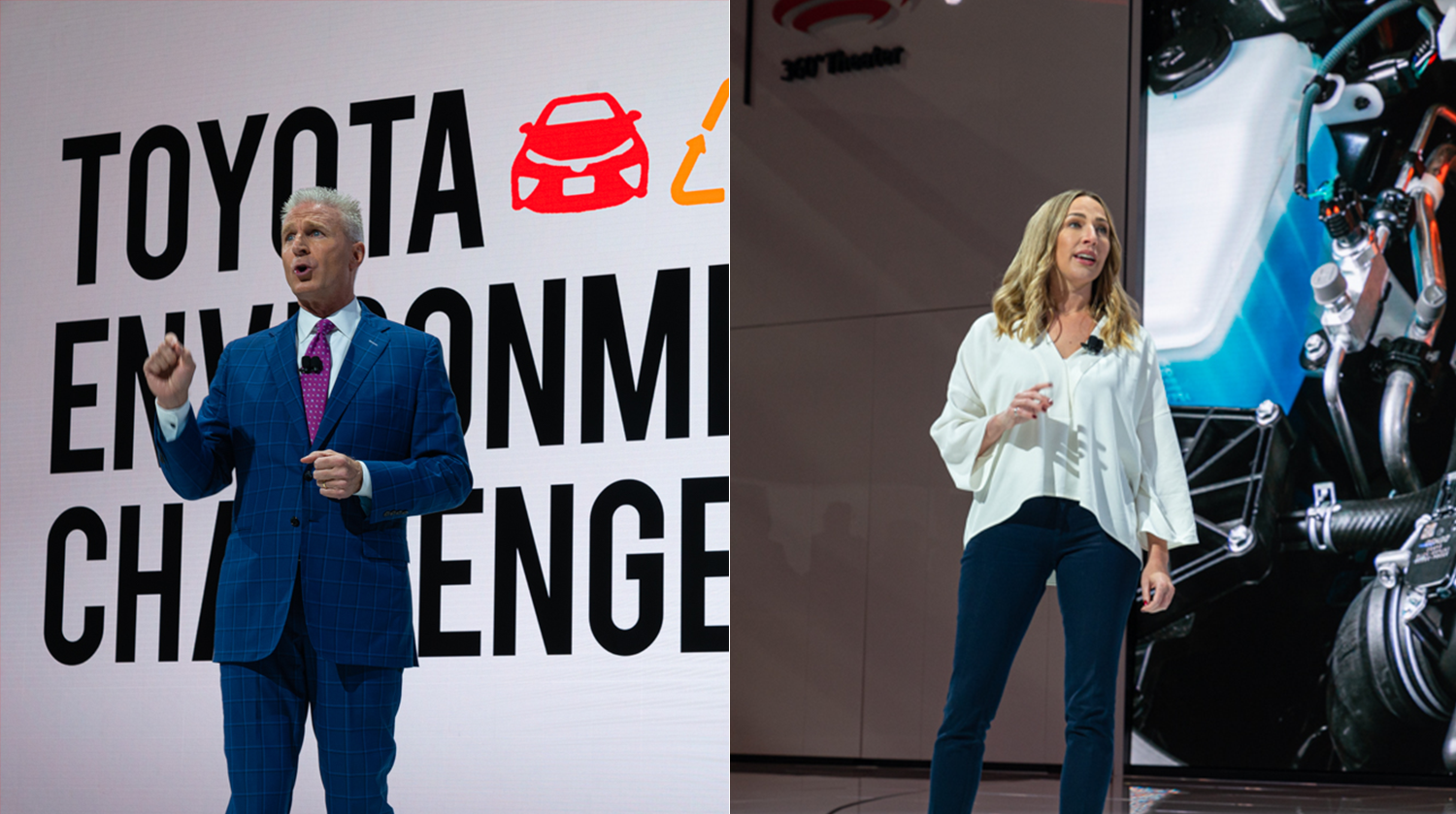 2019 Los Angeles International Auto Show: Toyota Press Conference, Jack Hollis and Jackie Birdsall Remarks