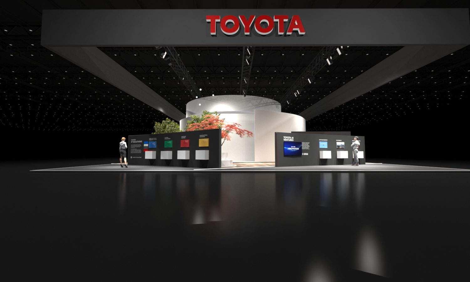 Toyota Provides Immersive Experience into the Woven City at CES 2020