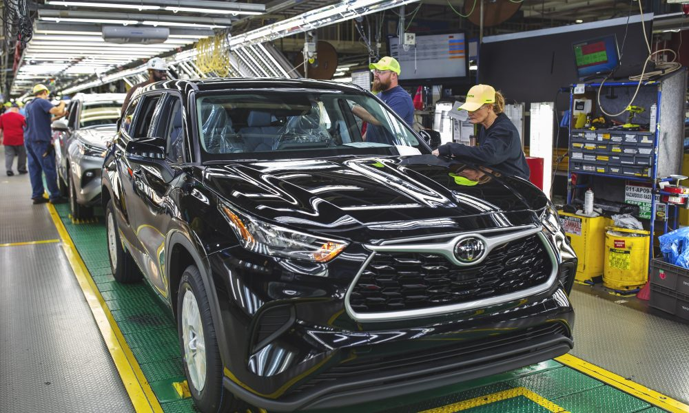 Toyota Indiana Completes $1.3 Billion Modernization Project; Includes 550 New Jobs