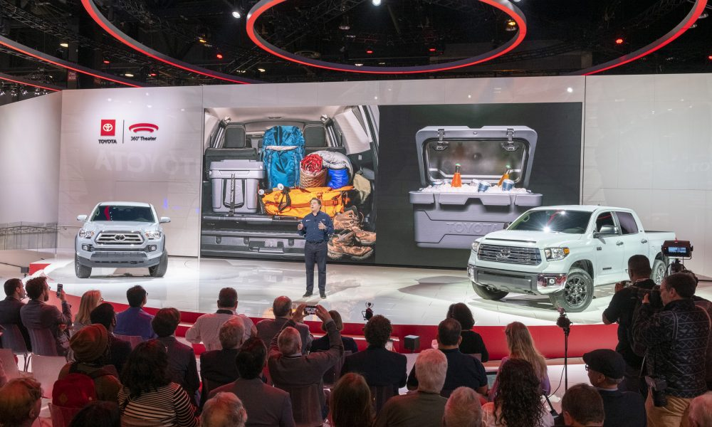 2020 Chicago Auto Show: Toyota Press Conference, Ed Laukes Remarks