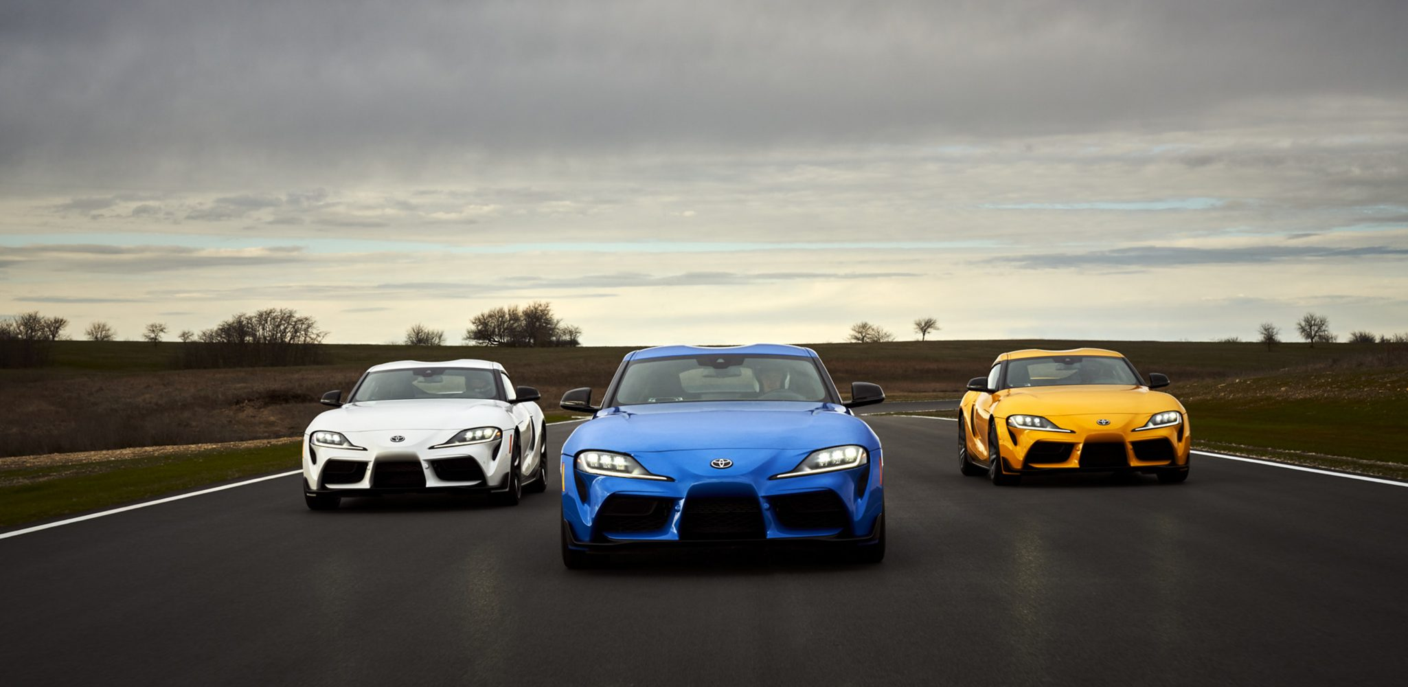 Toyota GR Supra Races Into 2021 with More Power and First-Ever Four-Cylinder Turbo Model