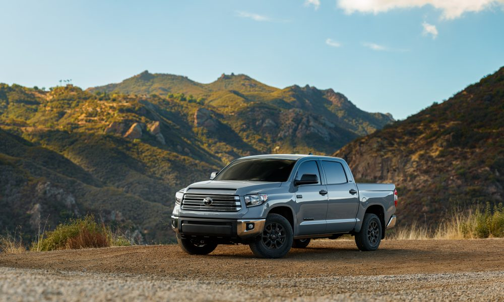 2021 Toyota Tundra Revs Up Big-Pickup Fun with New Trail and Nightshade Special Editions