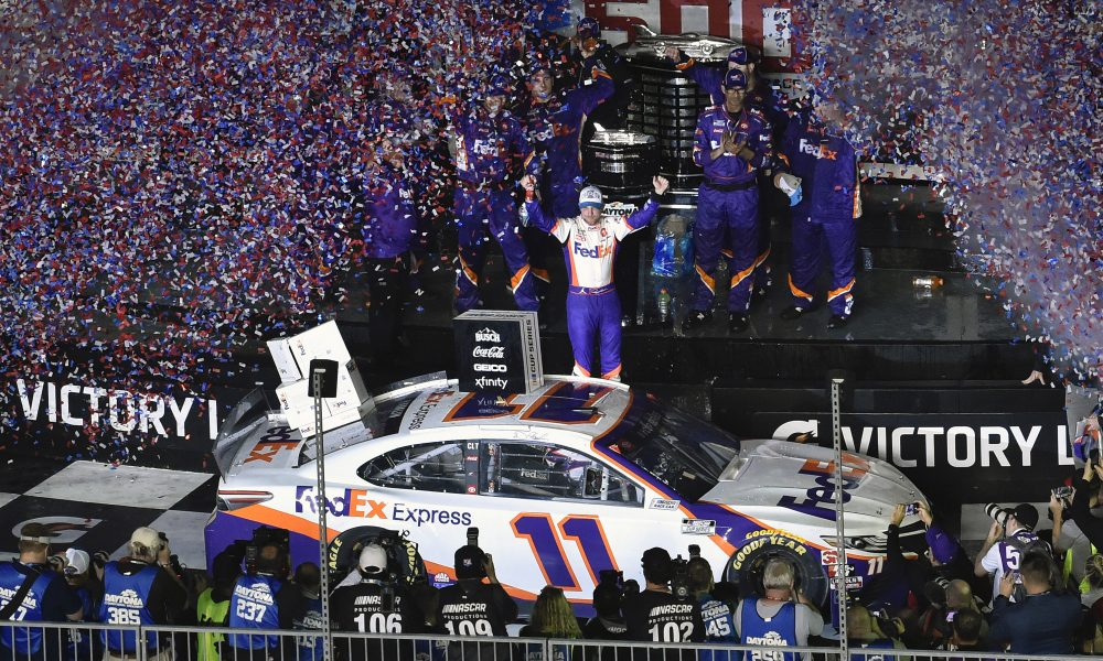 Hamlin Wins Second Straight Daytona 500